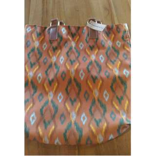 Starbucks Tote Bag Ikat