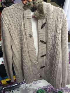 Lc wakiki knitted jacket XL