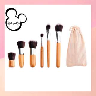Bamboo Brush 1set 6pc