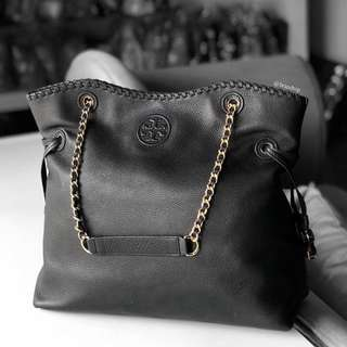 Authentic Tory Burch Marion Slouchy Tote Bag