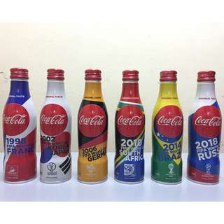 Coca Cola World Cup Aluminium Bottle