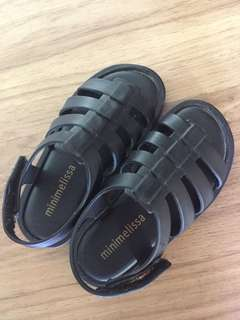 Melissa sandals black