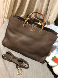 [Real! New!] Gucci bamboo handle shopper bag / tote!