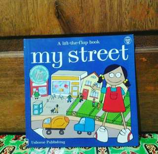 Usborne a lift the flap book my street