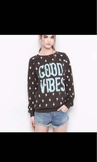 H&M Good Vibes Sweater