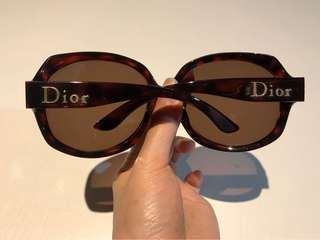 [Real!] DIOR sunglasses | a little bit oversized and make you small face