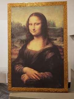 monalisa wall picture