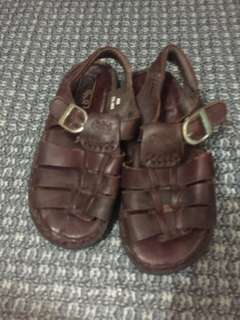Gibi Leather Sandals