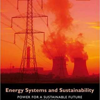🚚 Energy Systems and Sustainability GE2230 NUS