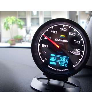 Greddy Multi D/A Gauge with 7 Colors