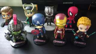 Avengers Chibi Action Figures
