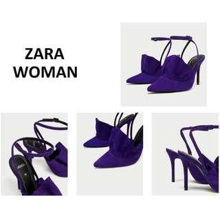 ZARA Inspired - White Heels [Size 7]