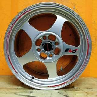 15inch SPORT RIM EVO REGAMASTER RACING WHEELS