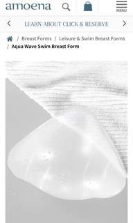 Amoena Aqua Wave breast form size 4