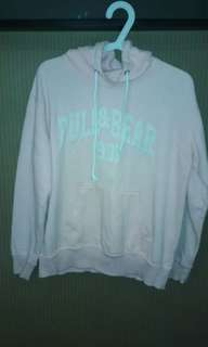 Hoodie Pull and Bear color Pink Unisex