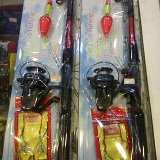 新手釣竿捲線器魚線魚鉤組200元限來店買點我頭像看店址和上千種商品