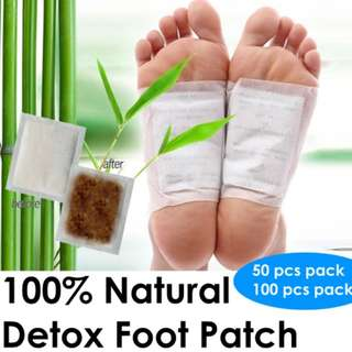 🚚 100% Natural Detox Foot Patch (100pcs)