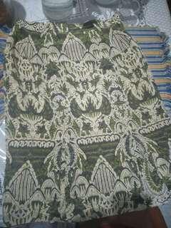 Rok Batik press Body