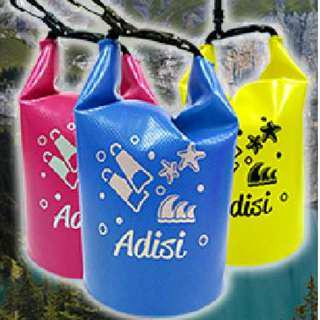 🚚 Adisi 圓筒防水袋 藍色 2L 厚0.5mm AS16090