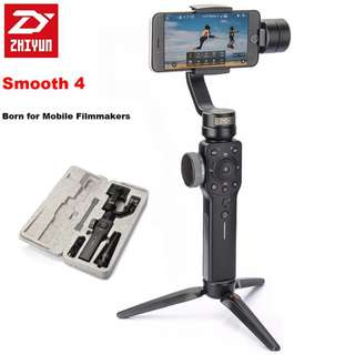 Zhiyun Smooth 4 Gimbal Stabilizer (READY STOCK)!!!