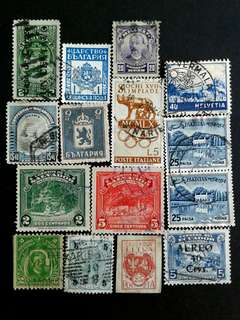 World vintage stamps#1