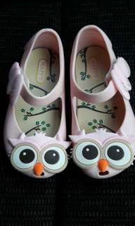 14cm OWL Jelly Shoes