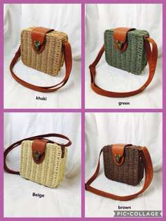 Square/sling bags- Fair n Square  ON HAND