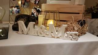 Wedding Photo/Guest Table