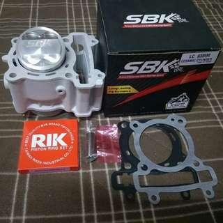 Yamaha Spark, LC135,x1r jupiter mx and fz 150 block racing.