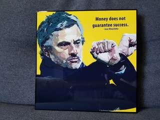 Jose Mourinho (Famous Pop Art)