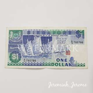 SGD $1 Note