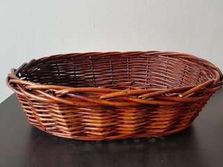 Cane basket no handles