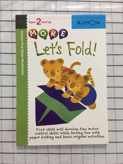 🚚 Kumon age 2 and up - Lets fold