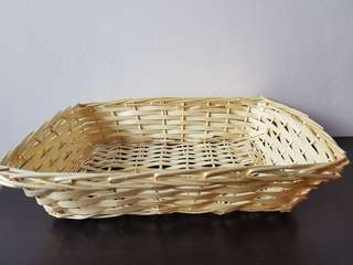 Cane basket for multiple uses