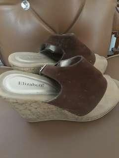 High heels wedges
