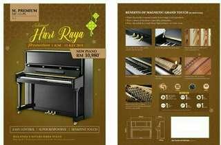 M. Premium MP125-PE V-5 New Upright Piano