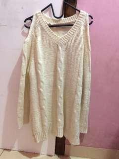 Oversized Korea Crop Sweater