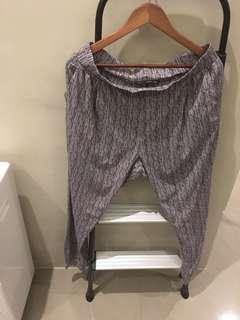 Printed stretchy Pants