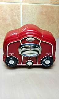 Vintage Retro Design F/M  A/M  Radio