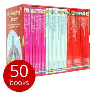 Usborne My Second Reading Library (50 books)