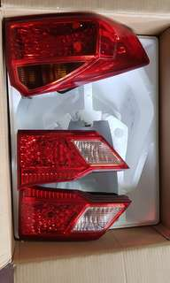 honda city stock tail light 2014-2017