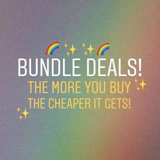 BUNDLE DEALS!✨