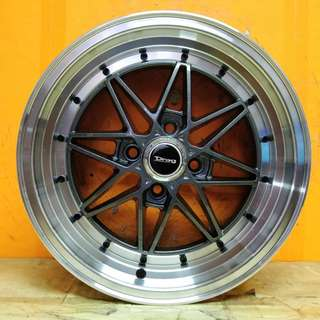 15inch SPORT RIM EQUIP 03 RACING WHEELS