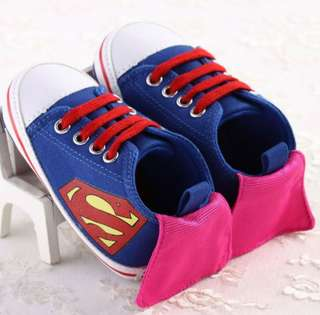 Superman prewalker shoes