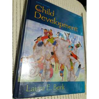 Child Development by Laura Berk (9th Edition, 2012) Hardcover
