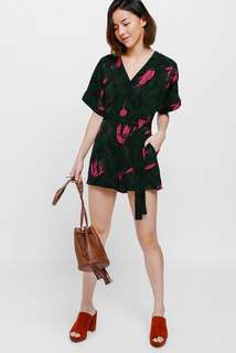 Love Bonito Puebla Printed Playsuit Romper