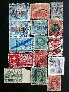 World vintage stamps#4