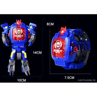 Transformer robot toy / watch 2 ways use