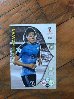 EDINSON CAVANI WORLD CUP FIFA 2018 PANINI ADRENALYN
