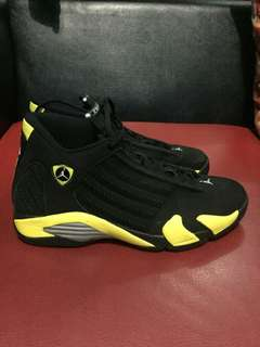 Air jordan xiv retro thunder 14